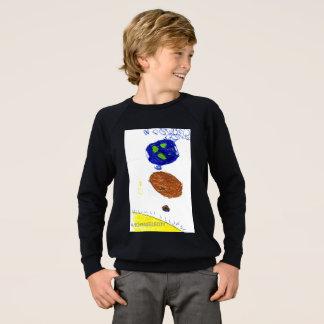 Niños en espacio sudadera