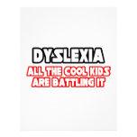 Niños frescos de la dislexia… flyer personalizado