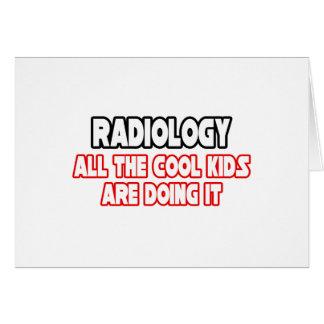 Niños frescos de la radiología… tarjeta
