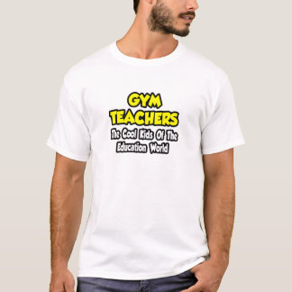Niños frescos de los profesores de gimnasio… del camiseta