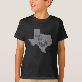 Niños fuertes de la camiseta de los #Texas del