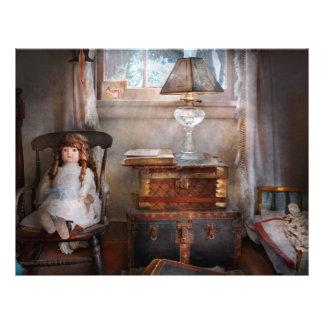 Niños - juguete - un cuarto de las niñas folleto 21,6 x 28 cm