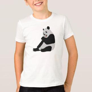 Niños lindos del oso de panda camiseta