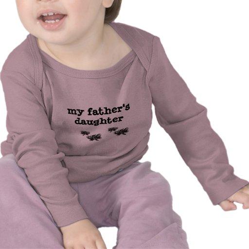 niños, padre, mariposa, navidad camisetas