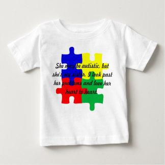 Niños personalizados de la camiseta del autismo de
