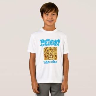 """Niños """"ruja como que camisa de un león"""""""