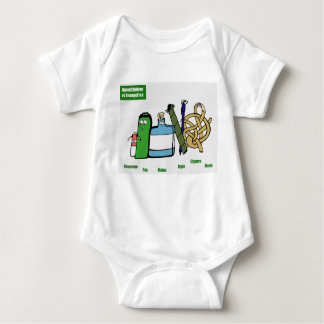 Niños unidos del engranaje del bebé de Brangelina Body Para Bebé