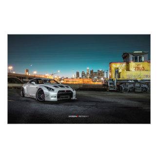 Nissan GT-R R35 Libertywalk en Los Ángeles Cojinete
