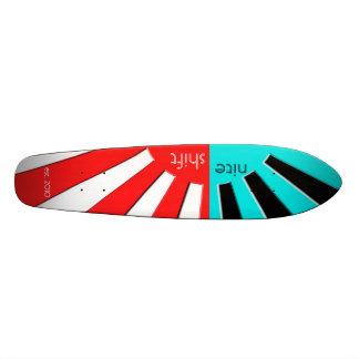 Niteshift soles ponientes Longboard Patín Personalizado