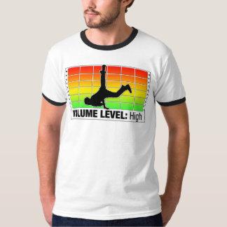 Nivel de volumen: Alto V2 Camiseta