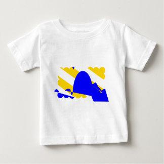 Nivernais-provincia-Bandera Camiseta De Bebé