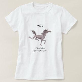Nix la camiseta Níquel-De cuernos del unicornio