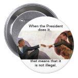 Nixon y Obama: Compañeros del alma Pin