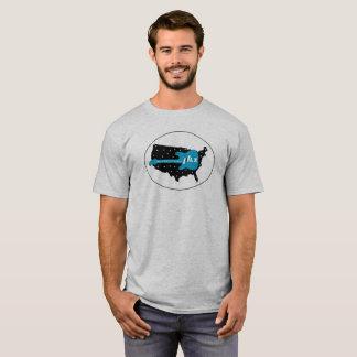 NLX a través de la camiseta 2 de América