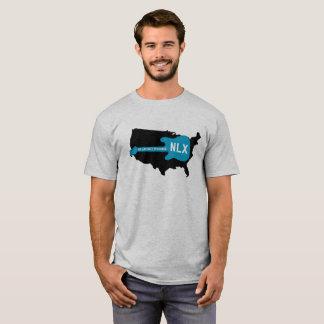 NLX a través de la camiseta de América