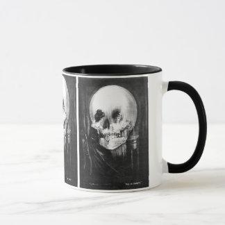 No1 de la sorpresa del cráneo - taza de Halloween