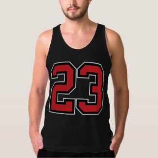 No.23 Camiseta De Tirantes