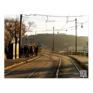No. 2 de la tranvía de Budapest Postal