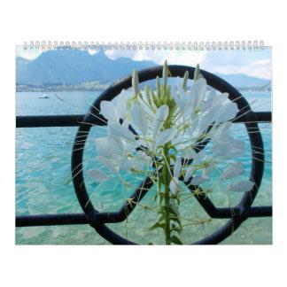 No. 4 del calendario del amor de la flor