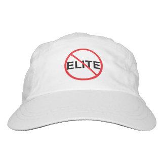 No a las élites gorra de alto rendimiento