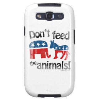 No alimente a animales la política de partidos samsung galaxy s3 protector