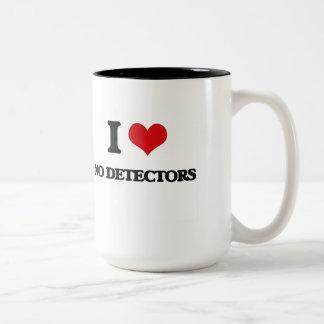 No amo ningún detector taza dos tonos