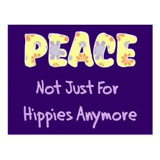 No apenas para los hippies postal