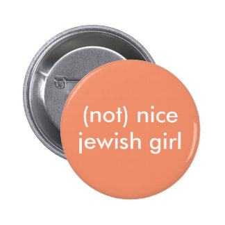 (no) botón judío agradable del chica