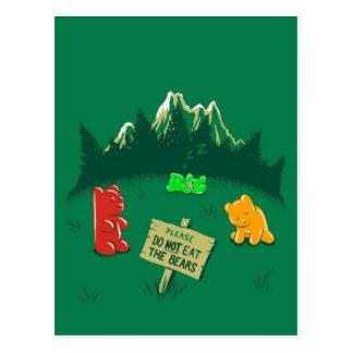 No coma los osos postal
