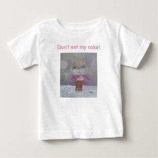 ¡No coma mi torta! Camisetas