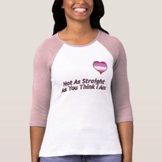 """""""No como camisa derecho"""" lesbiana"""