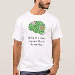 """""""No como en camiseta de las películas"""""""