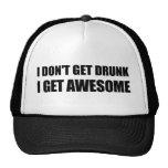 No consigo bebido, yo consigo IMPRESIONANTE Gorras