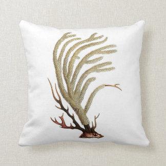 No. coralino 2 de la almohada de la decoración de
