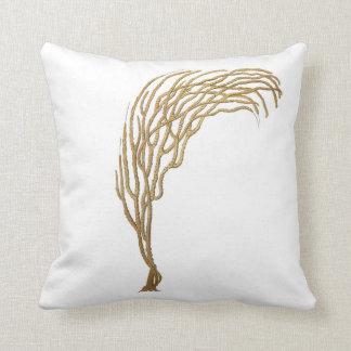 No. coralino 3 de la almohada de la decoración de