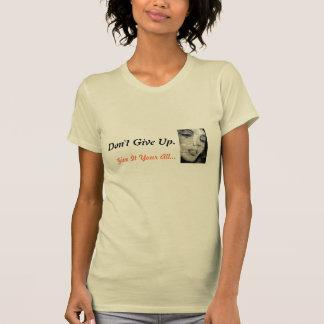 No dé para arriba la camiseta
