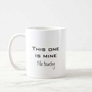 No delicado taza de café