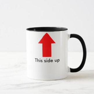 No derrame la taza