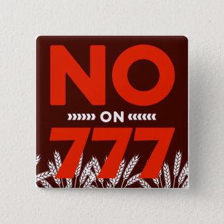 No en el botón 777