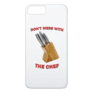 No ensucie con el iPhone 6/6s del cocinero más el Funda iPhone 7 Plus