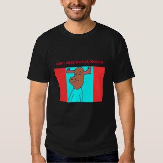 No ensucie con la camiseta de los alces de DA -