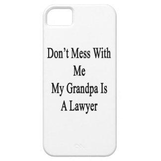 No ensucie conmigo que mi abuelo es abogado iPhone 5 Case-Mate fundas