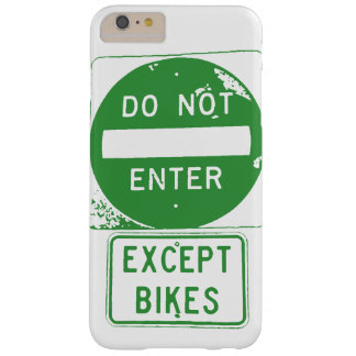 No entre excepto las bicis funda barely there iPhone 6 plus