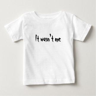 No era yo - camiseta de los niños