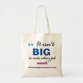 Bolso De Tela No es bolso grande de la biblioteca