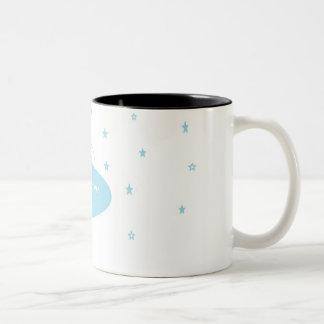 No es café - taza del tono de Kawaii dos