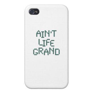No es la vida magnífica (el techno del océano) iPhone 4 carcasas