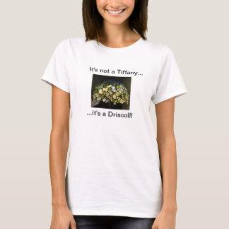 No es Tiffany… que es una camiseta de Driscoll