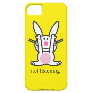 No escuchando iPhone 5 Case-Mate protector