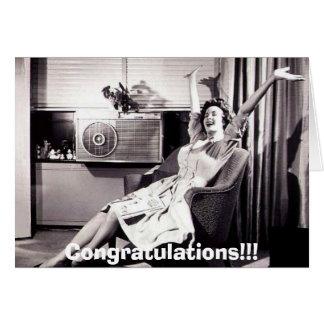 ¡No estoy embarazada!! Tarjeta De Felicitación